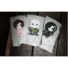 The Villian wash cloth set